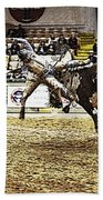 A Night At The Rodeo V36 Beach Towel