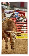 A Night At The Rodeo V5 Beach Towel