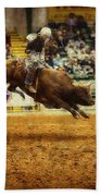 A Night At The Rodeo V7 Beach Towel