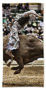 A Night At The Rodeo V8 Beach Towel