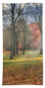 A November Morning Beach Towel by Bill Wakeley