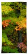 A Painting Adirondack Autumn Beach Towel