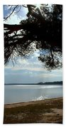 A Park With Tranquil Moments Beach Sheet