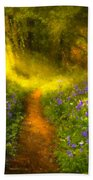A Place In The Sun - Impressionism Beach Towel