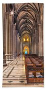 A Place Of Worship Beach Towel