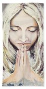 A Prayer... Beach Towel
