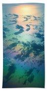 A Rainless Rainbow Beach Towel