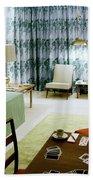 A Retro Bedroom Beach Sheet