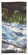 A River Runs Through Beach Sheet