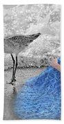 A Sandpiper's Dream Beach Towel