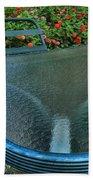A Sea Of Zinnias 03 Beach Towel