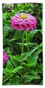 A Sea Of Zinnias 09 Beach Towel