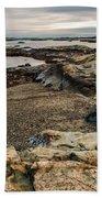A Shot Of An Early Morning Aquidneck Island Newport Ri Beach Towel