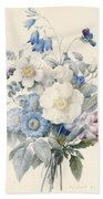 A Spray Of Summer Flowers Beach Towel
