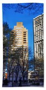 A Spring Day At Rittenhouse Square Beach Towel