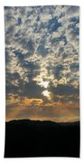 A Storm Is Coming Beach Towel