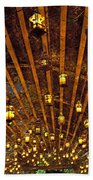 A Thousand Candles - Tunnel Of Light Beach Towel