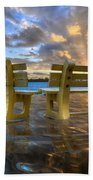 A Time For Reflection Beach Towel