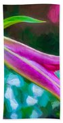A Touch Of Class 2 - Impasto Beach Towel