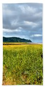 A View From Discovery Trail Beach Towel by Robert Bales