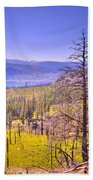 A View From Okanagan Mountain Beach Towel