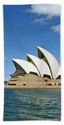 A View Of The Sydney Opera House Beach Towel