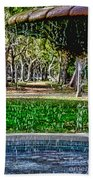 A Walk In The Park By Diana Sainz Beach Towel