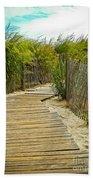 A Walk To The Beach Beach Towel