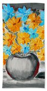 A Whole Bunch Of Daisies Selective Color II Beach Towel