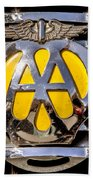 Aa Mu Emblem Beach Towel