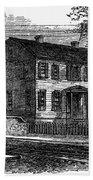 Aaron Burr Birthplace Beach Sheet