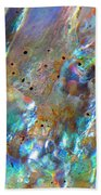 Abalone Abstract3 Beach Towel