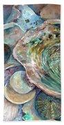 Abalone Grouping Beach Towel