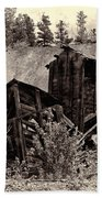 Abandon Montana Mine Beach Towel