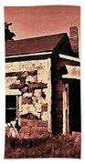 Abandoned Cape Breton House Beach Towel by John Malone