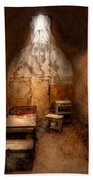 Abandoned - Eastern State Penitentiary - Life Sentence Beach Towel by Mike Savad