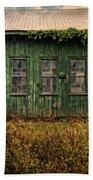 Abandoned Green Sugar Mill Building Dsc04353 Beach Towel