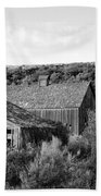 Abandoned House And Barn - Alstown - Washington - May 2013 Beach Towel