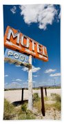 Abandoned Motel Beach Towel
