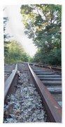 Abandoned Railroad 1 Beach Towel