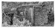 Abandoned Root Cellar - Alstown - Washington - May 2013 Beach Towel