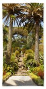 Abbey Gardens Of Tresco On The Isles Of Scilly Beach Towel