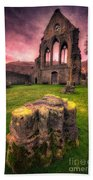 Abbey Ruin Beach Towel