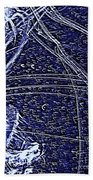 Aberration Of Jelly Fish In Rhapsody Series 3 Beach Towel