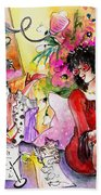 About Women And Girls 16 Beach Towel