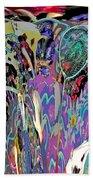Abracadabra Abstract Beach Towel