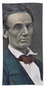 Abraham Lincoln Beach Towel by American Photographer