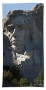 Abraham Lincoln Mount Rushmore National Monument Beach Towel