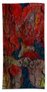 Abstract - Emotion - Annoyance Beach Towel