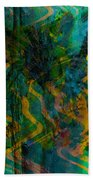 Abstract - Emotion - Apprehension Beach Towel